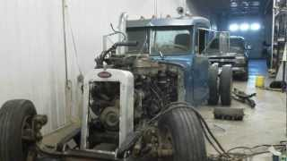 Semi Truck Rat Rod Build