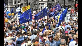 Thousands join 'People's Vote' march calling for referendum on final Brexit deal | ITV News