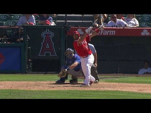 Pujols' 512th home run gives Angels the lead