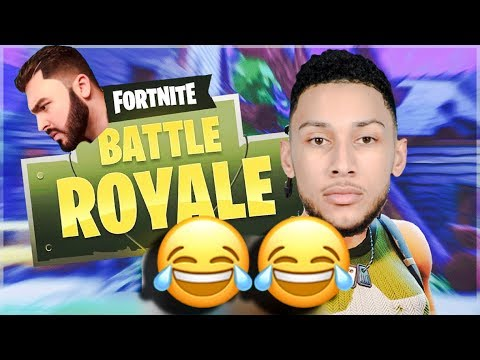 Ben Simmons Plays Fort For The First Time W/ Tinashe & LosPollosTv thumbnail
