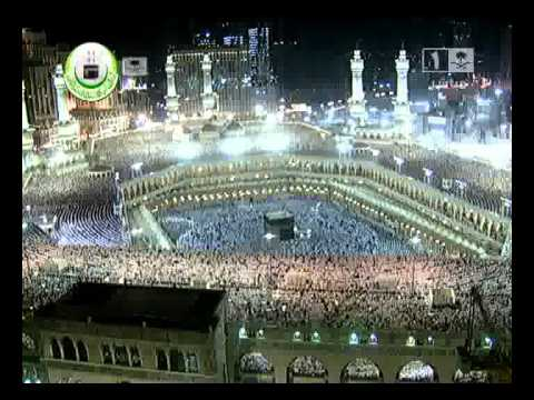 bilal tube - Makkah Taraweeh Prayer 2012-Ramadan Night 24