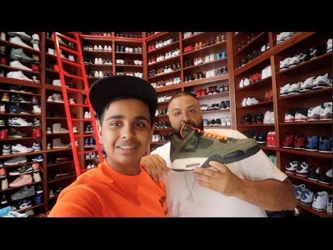 INSIDE DJ KHALED 10,000,000 $ MANSION !!