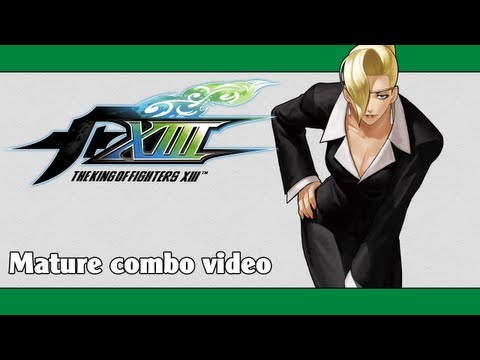 KoF XIII: Mature combo video