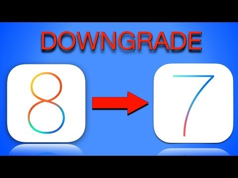 HOW TO: Downgrade from iOS 8 to iOS 7   Go back to iOS 7.1.1
