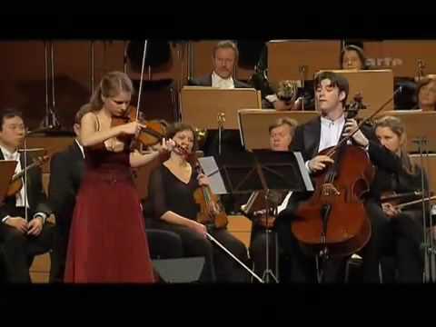 Julia Fischer & Daniel Muller-Schott  - Handel-Halvorsen Passacaglia (HQ)