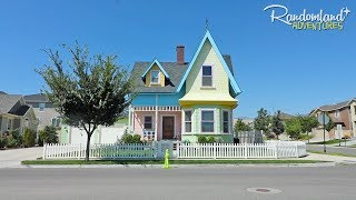Real-life Pixar's UP House and a Utah Theme Park - Lagoon!