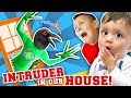 GET OUR OF OUR HOUSE YOU WEIRD BIRD MONSTER Funny Fails FUNnel Family Vlog Skit mp3