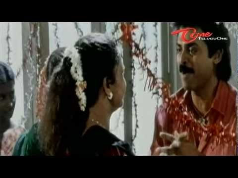 Telugu Comedy - Venkatesh Make Fun With Meena