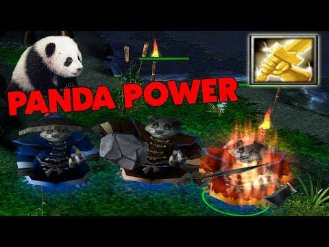 DOTA BREWMASTER PANDA POWER + RADIANCE (HARD GAME)