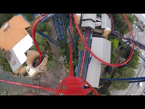 We Had A Christmas Fail At Busch Gardens Tampa So We Rode Roller Coasters Instead!