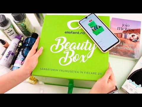 Unboxing Beauty Box by Elefant.ro / #beautybox #elefantro #sarbatorimfrumusetea