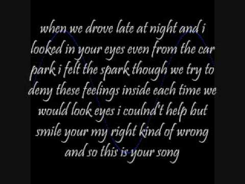 The Right Kind Of Wrong by Leann Rimes *Lyrics* - YouTube