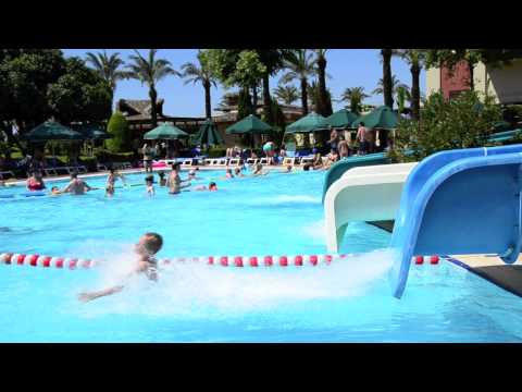 Slide at the Swimming Pool - IC Hotels -- Green Palace
