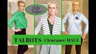 Talbots Haul & Try On