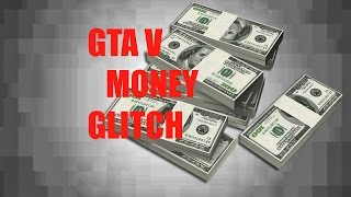 GTA 5 Offline money glitch [FIX IN DESCRIPTION]-(Xbox 360,Xbox one, ps4)