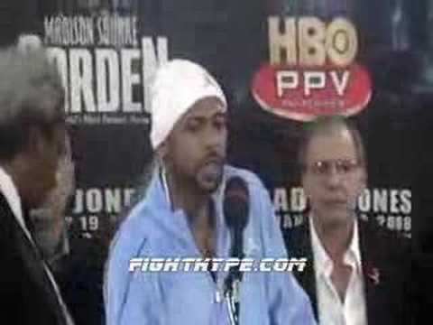 JONES-TRINIDAD POST-FIGHT PRESS CONFERENCE