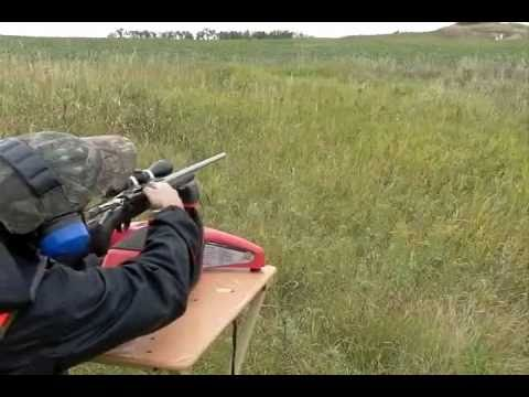 Tikka T3 Lite Stainless 30.06. 120 yards. Steel Target