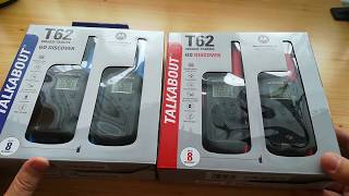Dobozbontás: Motorola Talkabout T62 walkie talkie