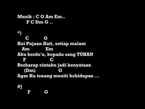 Pujaan Hati Kangen Band Chord Lirik