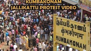 JALLIKATTU PROTEST IN KUMBAKONAM