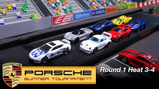 Porsche Race Tournament R1H3-4 Hot Wheels Diecast Car Racing