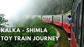Kalka Shimla Train Journey | Toy Train Shimla
