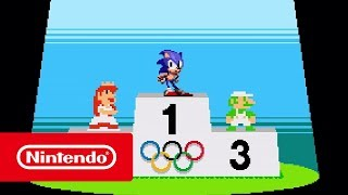 Mario & Sonic at the Olympic Games Tokyo 2020 – Classic 2D events reveal trailer (Nintendo Switch)