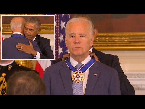 President Obama Celebrates Bromance With Joe Biden In Surprise Farewell Speech