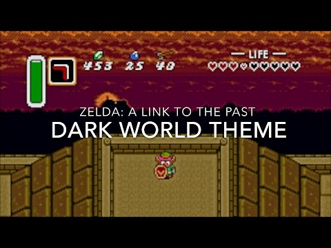 Koji Kondo - The Legend Of Zelda A Link To The Past Dark World Theme