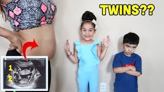 TELLING OUR KIDS WE'RE HAVING TWINS!! *prank* | Jancy Family