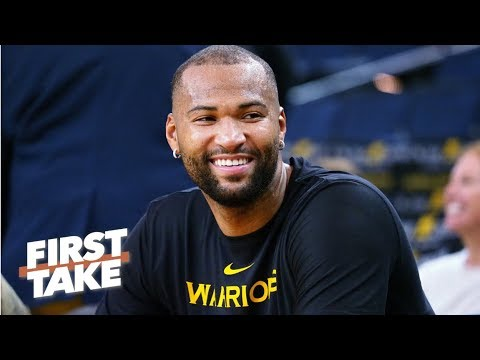 Does DeMarcus Cousins give the Warriors the greatest starting five ever? | First Take