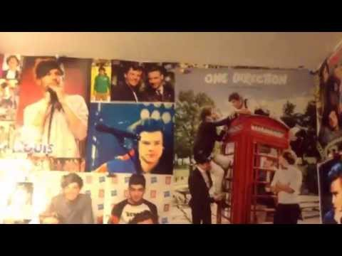 One direction room tour