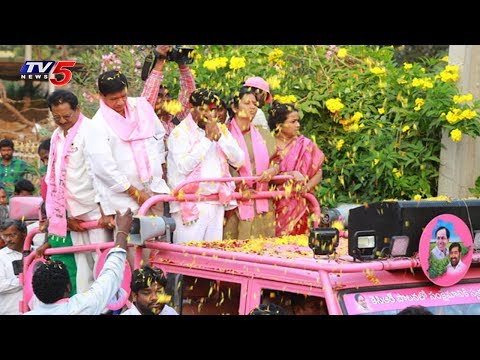TRS Suryapet Candidate Jagadish Reddy Election Campaign in Penpahad Mandal | TV5 News
