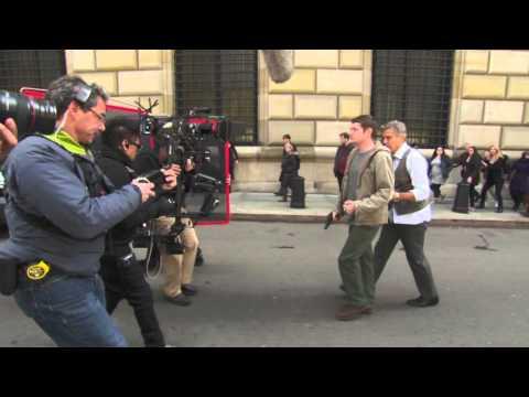 Money Monster: Behind the Scenes Movie Broll - George Clooney, Jodie Foster, Julia Roberts