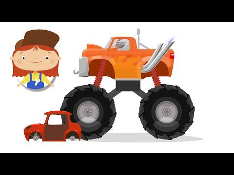 Секрет Доктора Машинковой. Мультфильмы для детей про машинки.