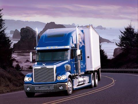 Дальнобой по США. Обзор на Фрейтлайнер Коронадо. Трак Жеки. Американские грузовики