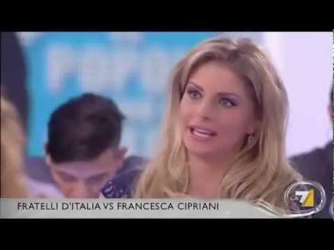 BOTTE DA ORBI parla Francesca Cipriani