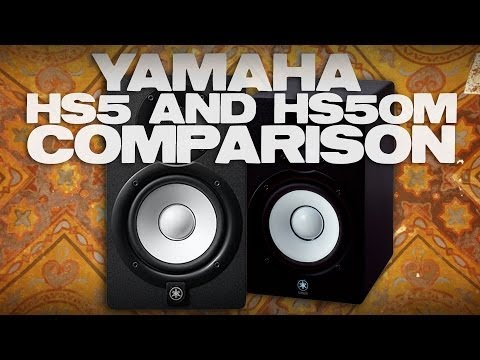 Yamaha hs5 and hs50m comparison and review how to make for Yamaha hs50m review