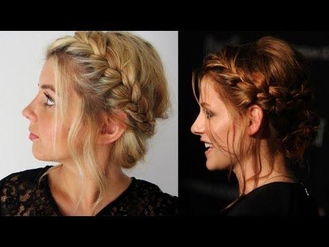 Причёски косы на волосы до плеч