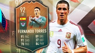 FLASHBACK TORRES 92! A BEAST OR JUST AN UNDERWHELMING CARD? FIFA 19 ULTIMATE TEAM