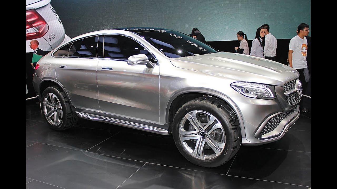 Mercedes Concept Coup Suv Mlc Peking Auto Show 2014 Youtube