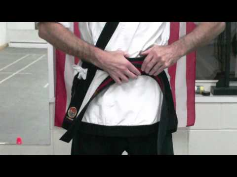 How to tie A Tang Soo Do Belt Image 1