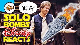 SOLO BOMBS! DISNEY REACTS! What's Next for STAR WARS and Lucasfilm?