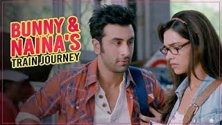 Bunny & Naina's Train Journey | Yeh Jawaani Hai Deewani | Ranbir Kapoor | Deepika Padukone