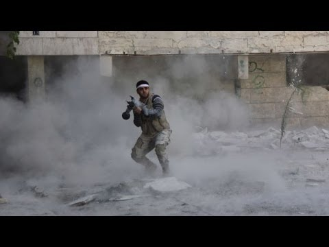 Syrian Rebels In Heavy Fighting With The Syrian Army