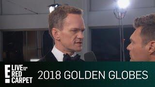 Neil Patrick Harris Guesses Golden Globes Jokes   E! Red Carpet & Award Shows