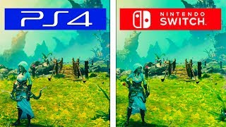 Trine 3 | Switch vs PS4 | Graphics & FPS Comparison | Comparativa