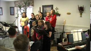 Can't Cross the Bloodline - Alum Springs Baptist Church Youth Choir