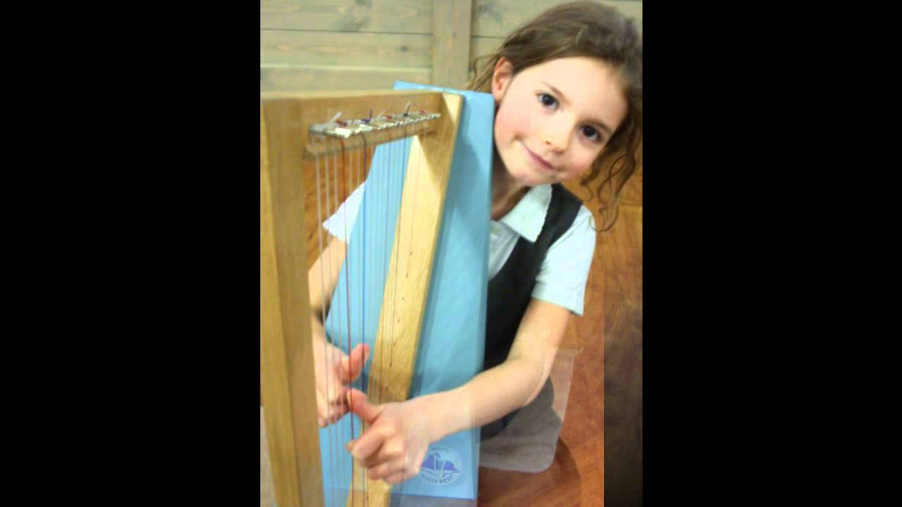 How To Make A Homemade Harp For Kids