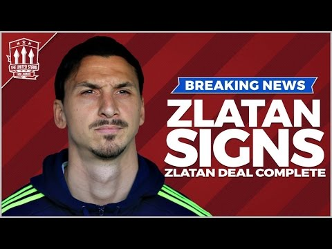 ZLATAN IBRAHIMOVIC CONFIRMED | Manchester United Transfer News